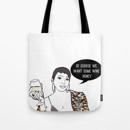 Wine honey Tote Bag