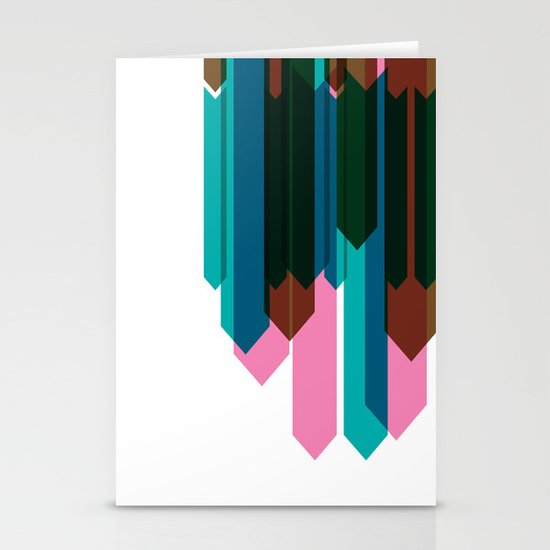 Arrow Collage Stationery Cards