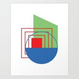 RGB Poster 2 Art Print