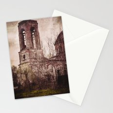 Church in ruins Stationery Cards