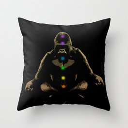 Ape Ascending Throw Pillow