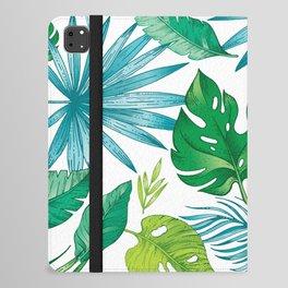tree leaves 005 iPad Folio Case