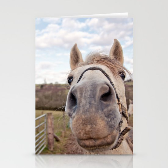 look at my horse... Stationery Cards