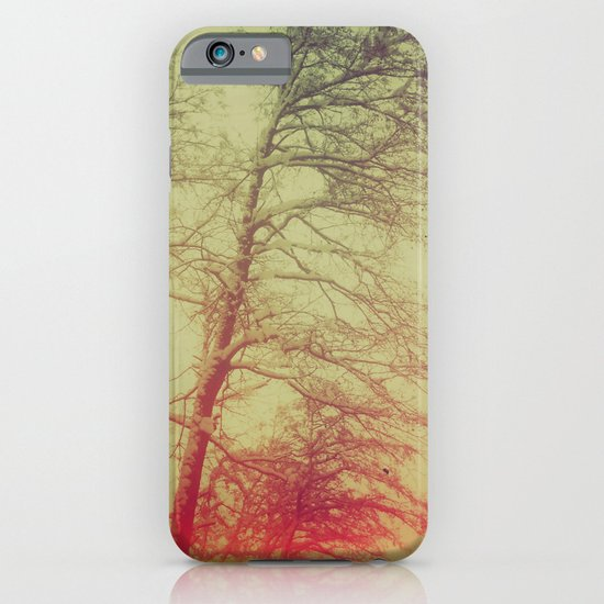 Passionate winter trees iPhone & iPod Case