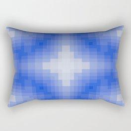 when the snow falls Rectangular Pillow