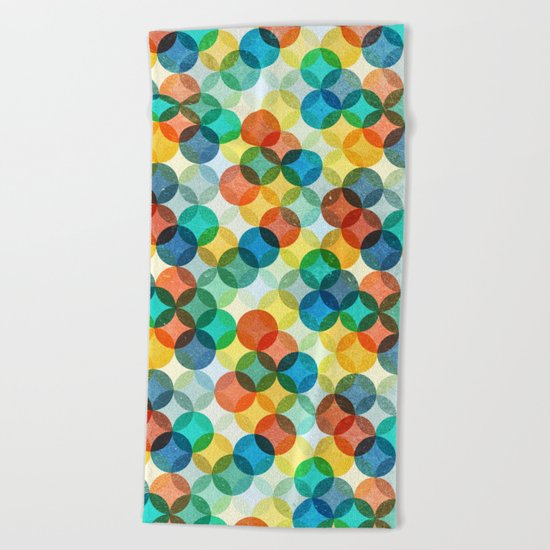 Color Play Beach Towel
