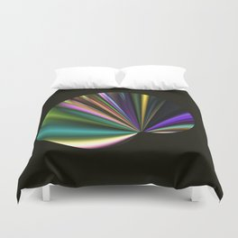 A Fan in Abstract Duvet Cover