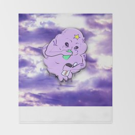Meanwhile in Lumpy Space Throw Blanket