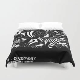 - cacophony - Duvet Cover