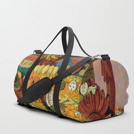 Las vendedoras de frutas by O. Costa Duffle Bag