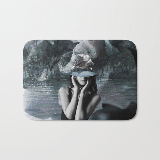 Fish Head Bath Mat