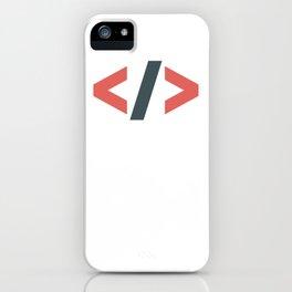 Brackets iPhone Case