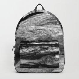 Glacial Rocks Photograph New Zealand Backpack