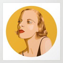 Queer Portrait - Tamara De Lempicka Art Print