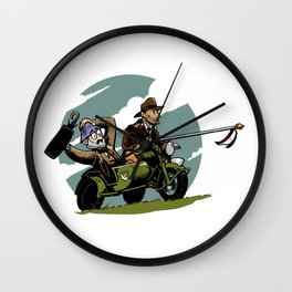 Indy Wall Clock