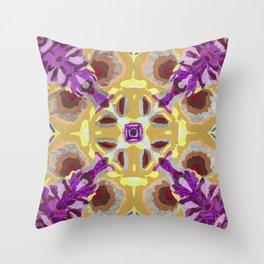 Bouquet III Throw Pillow