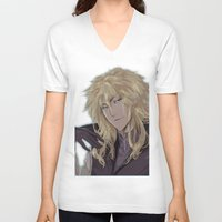 sparkles V-neck T-shirts featuring Sparkles by artistalyway