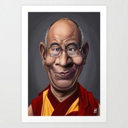 Celebrity Sunday ~ Dalai Lama Art Print