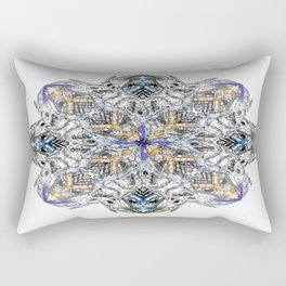 Cartoon Geometrics Rectangular Pillow
