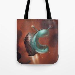 Jetpack Snail Tote Bag