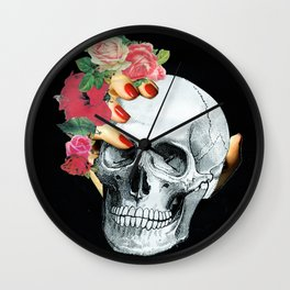Skull Crusher Wall Clock