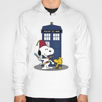 snoopy Hoodies featuring Snoopy Who by plasticdoughnut