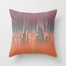 Reversible Space II Throw Pillow