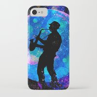 jazz iPhone & iPod Cases featuring Jazz by Saundra Myles