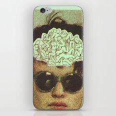 the human brain iPhone & iPod Skin