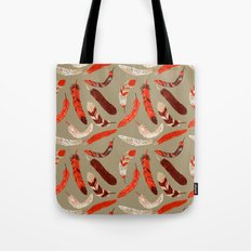 Flying Feathers Tote Bag