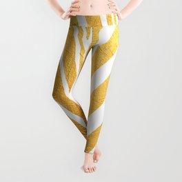 Golden leaf VIII Leggings