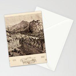 Edinburgh 1886 Stationery Cards