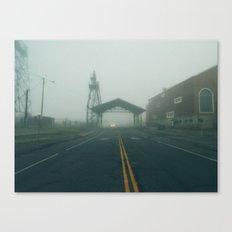 Uptown Fog Canvas Print