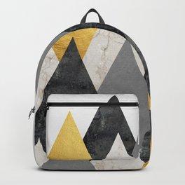 Landscape collage marble V Backpack