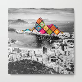 Funky Landmark - Rio Metal Print