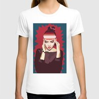 grimes T-shirts featuring Grimes by Arielle Herman