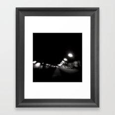 Streetlights Framed Art Print