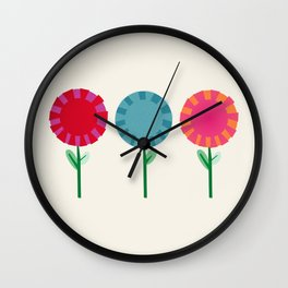 Little Maids all in a Row Wall Clock