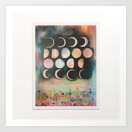 Planting by the Moon  Art Print