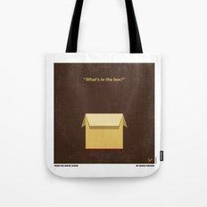 No233 My Seven minimal movie poster Tote Bag