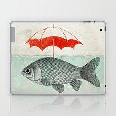 Umbrella Goldfish Laptop & iPad Skin