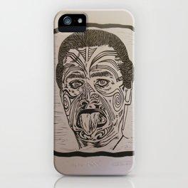Haka Maori iPhone Case