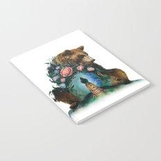 Flower & Bear Notebook