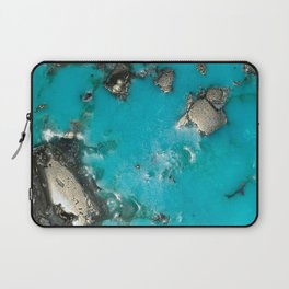 Turquoise & Gold Laptop Sleeve