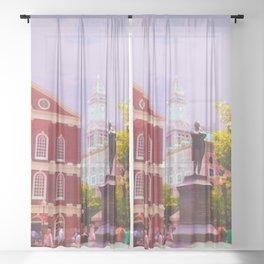 Faneuil Hall Sheer Curtain