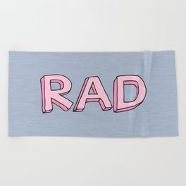 RAD Beach Towel