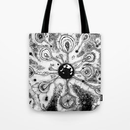 Born Galazy - Xtreme Pointillism Tote Bag
