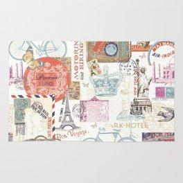 Paris Pattern 1 World Travel Rug