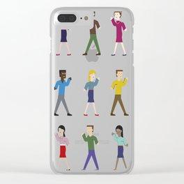 Dance like an egyptian Clear iPhone Case