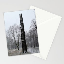 Winter in Kensington Gardens Stationery Cards